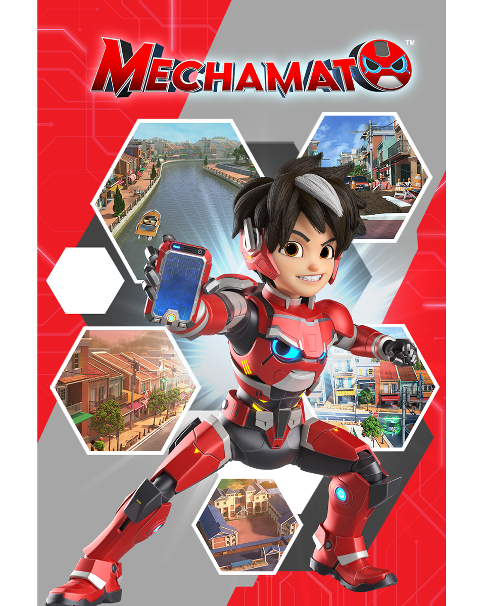 Animations & Characters-Mechamato v2.1